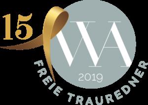 Gütesiegel Wedding Award Switzerland 2019 – Freie Trauung