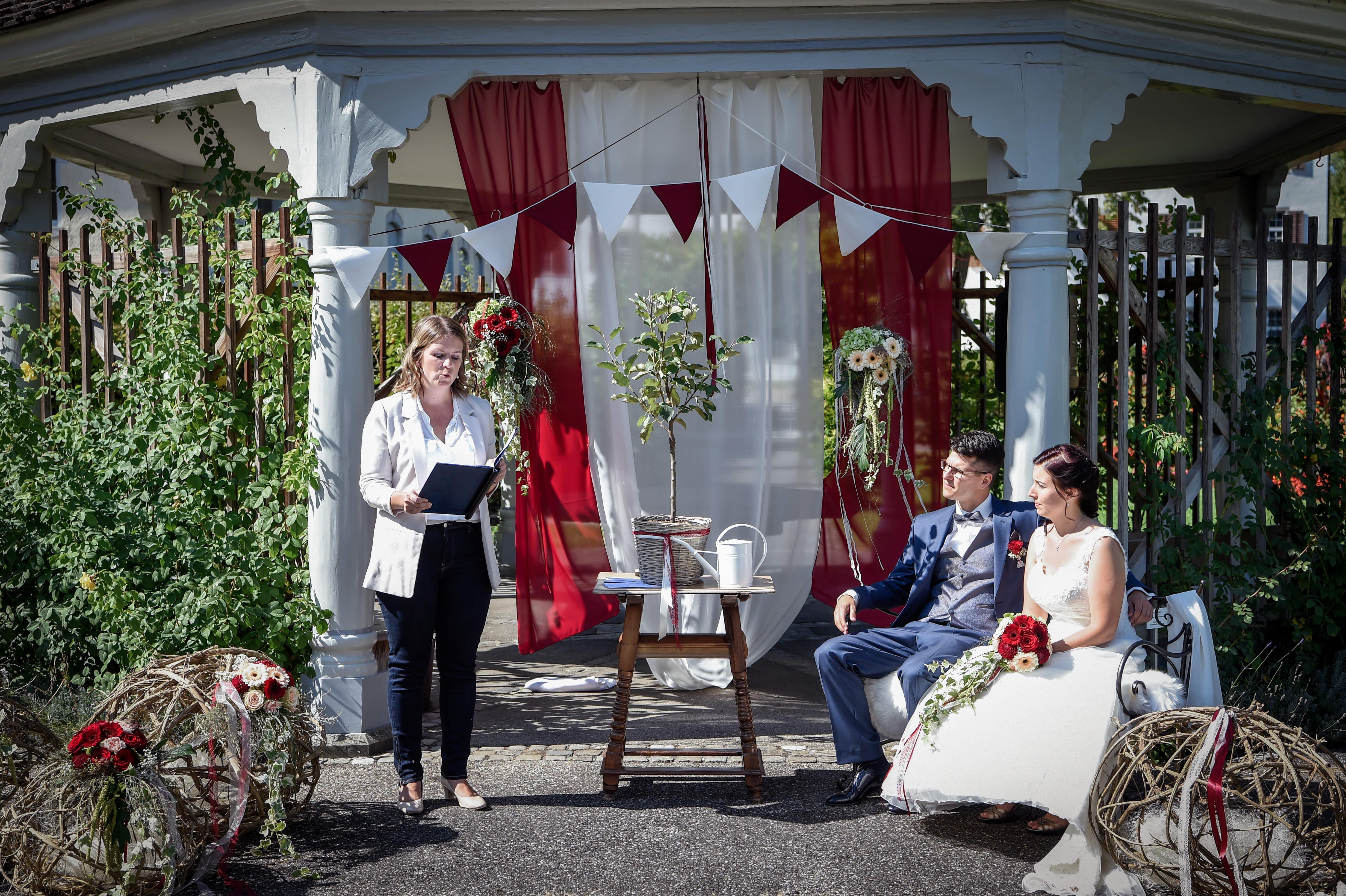 Hochzeit Corinne und Roman